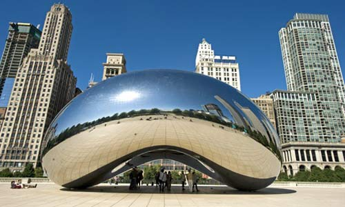 Cloud Gate quot  by Anish KapoorCloud Gate By Anish Kapoor