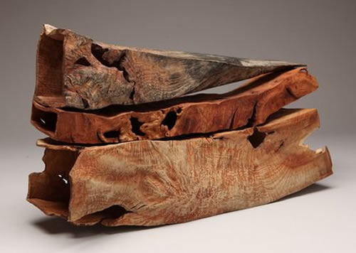 Michael Peterson Wood Sculpture