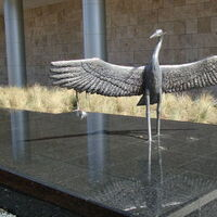 Monuments - Heron Hank by Edd Hayes - search and link Sculpture with SculptSite.com