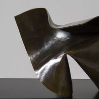 Folded Form 11 by Joe Gitterman - search and link Sculpture with SculptSite.com