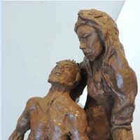 La Pieta by Bill Batic - search and link Sculpture with SculptSite.com