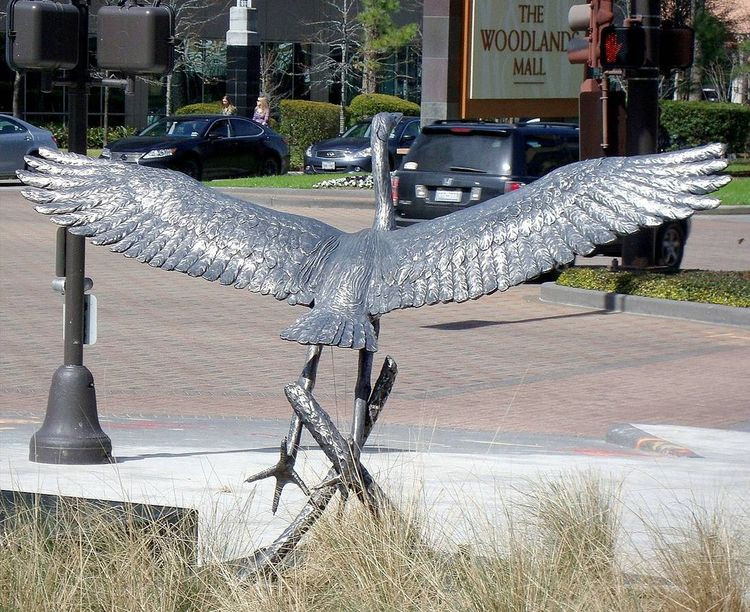 Monuments - Heron Creek by Edd Hayes - search and link Sculpture with SculptSite.com