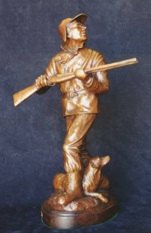 Sporting - Way Out of Left Field by Edd Hayes - search and link Sculpture with SculptSite.com