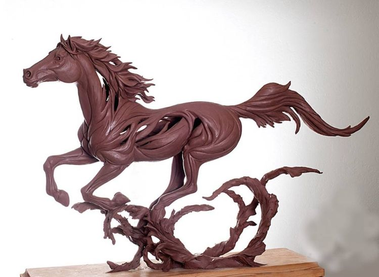 Unbridled Spirit of Freedom by Robert Eccleston - search and link Sculpture with SculptSite.com