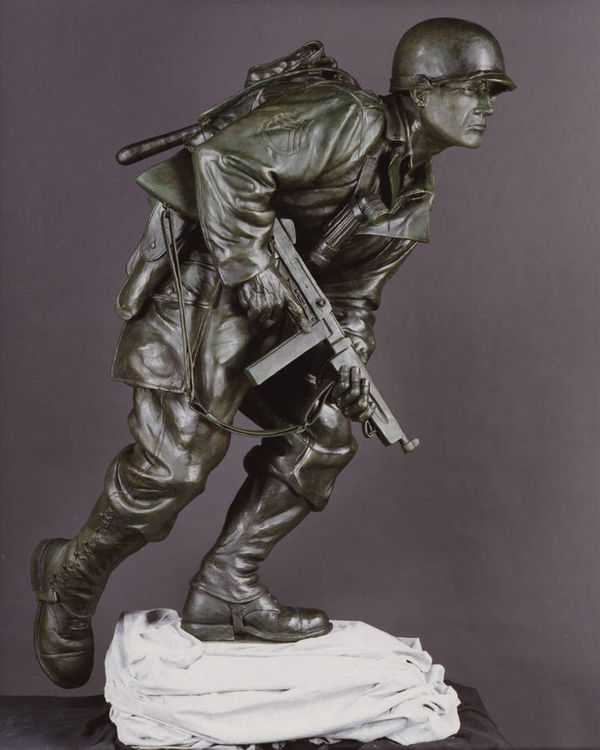 The Scout by Robert Eccleston - search and link Sculpture with SculptSite.com