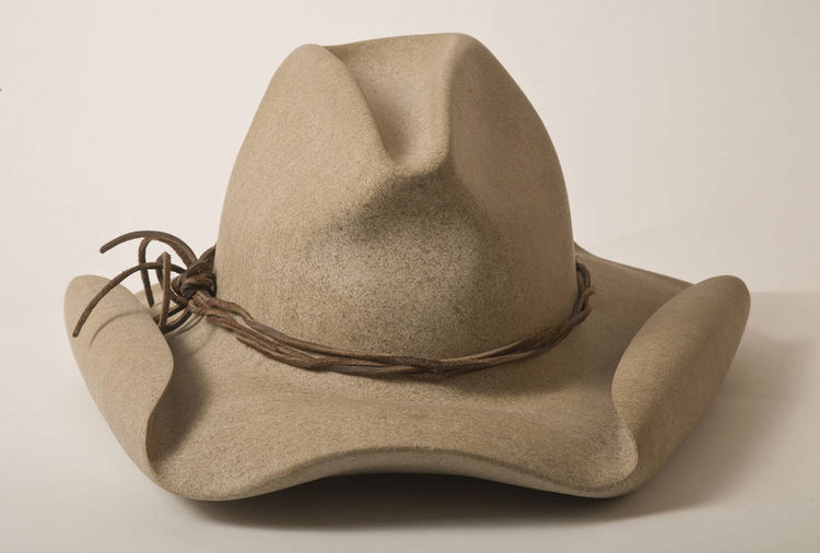 Cowboy Hat by Robin Antar - search and link Sculpture with SculptSite.com