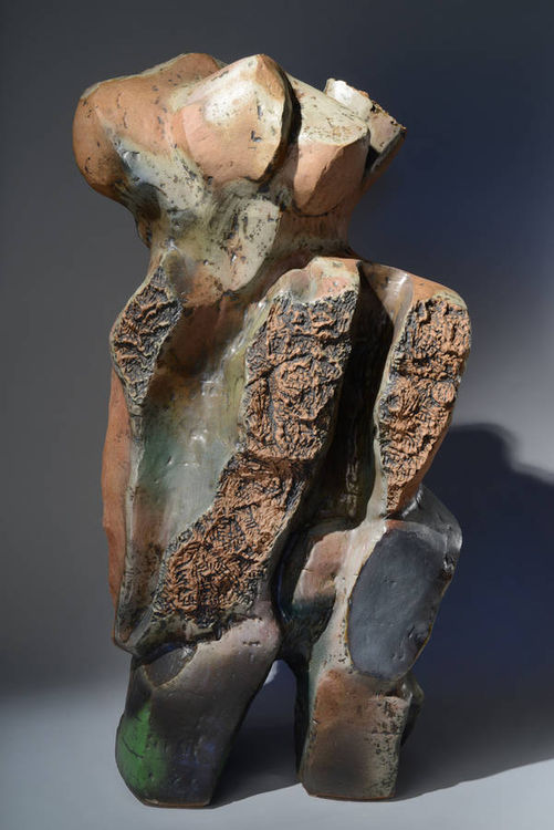 New Growth by Robert Pulley - search and link Sculpture with SculptSite.com