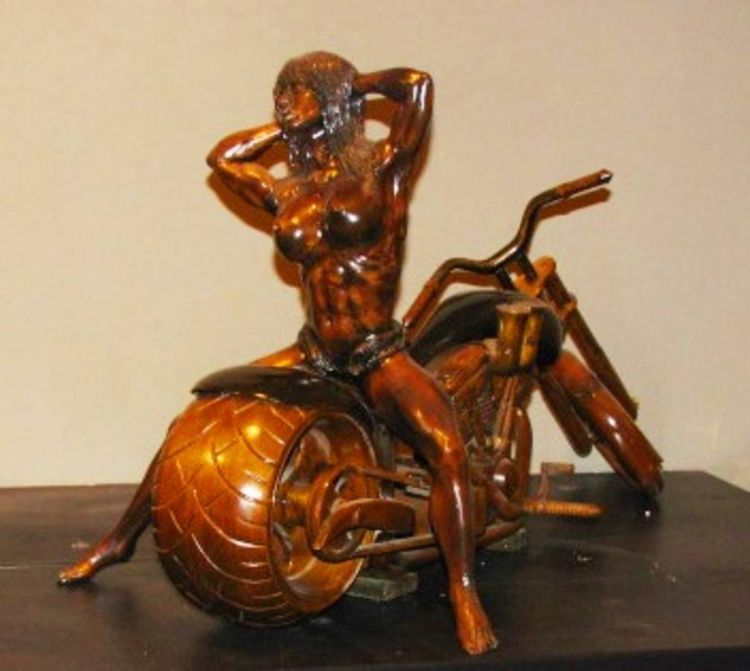 Passion for Power 2 by Edward Kitt - search and link Sculpture with SculptSite.com