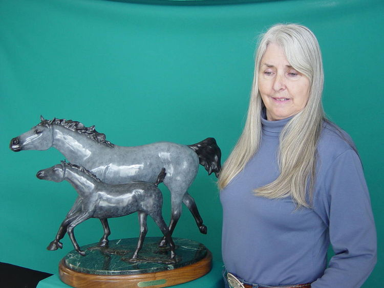 Showin\' Off by Dawn Weimer - search and link Sculpture with SculptSite.com