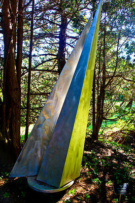 After the Race I-7ft by Gilbert Boro - search and link Sculpture with SculptSite.com