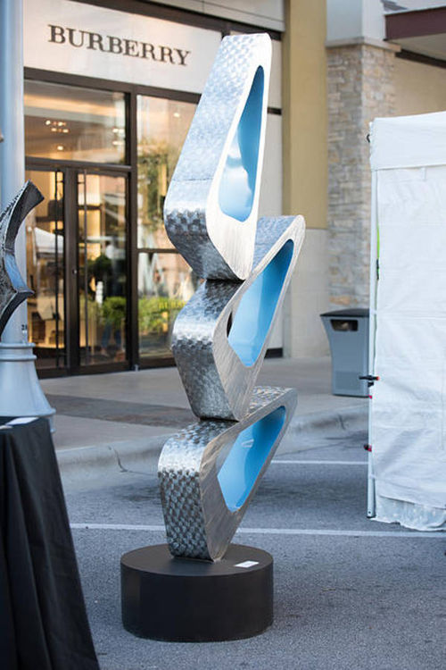 Cascade by Hunter Brown - search and link Sculpture with SculptSite.com