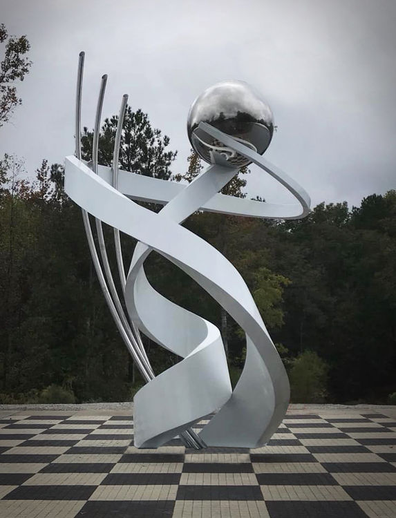 Torque by Hunter Brown - search and link Sculpture with SculptSite.com