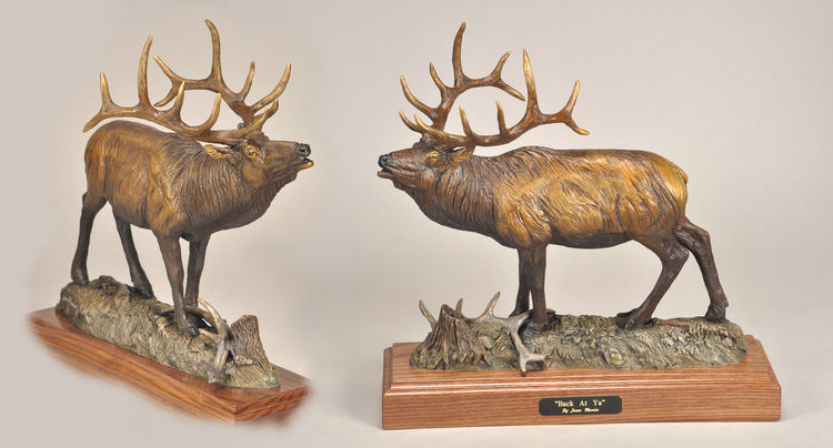 Back at Ya by James Marsico - search and link Sculpture with SculptSite.com