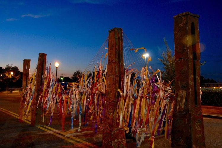Bridge Columns by Carol Fleming - search and link Sculpture with SculptSite.com