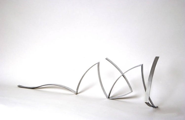 Drawing in space by Magels Landet - search and link Sculpture with SculptSite.com