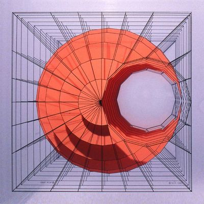 (sphere minus cylinder) by Noa Attia - search and link Sculpture with SculptSite.com