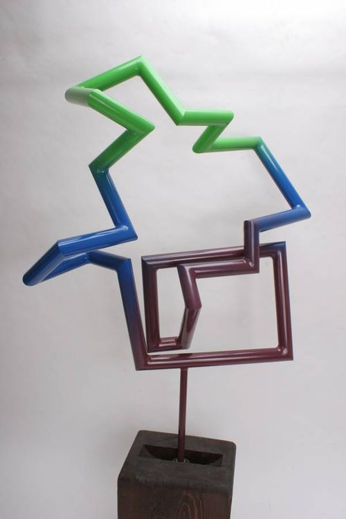 Tubes by Chris ORourke - search and link Sculpture with SculptSite.com