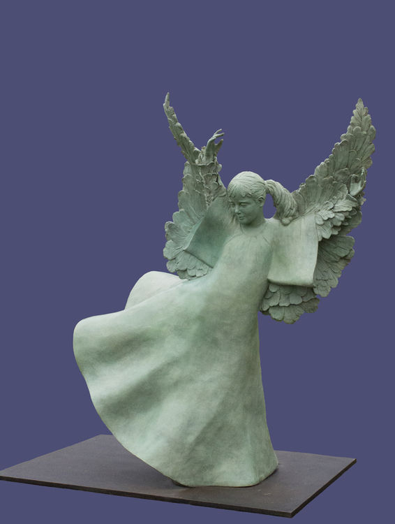 The Freedom Angel Created to Serve America's Veterans by Sterett-Gittings Kelsey - search and link Sculpture with SculptSite.com