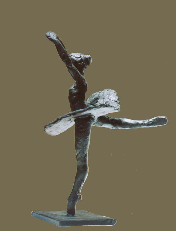Robert-Maiorano-of NYC-Ballet by Sterett-Gittings Kelsey - search and link Sculpture with SculptSite.com