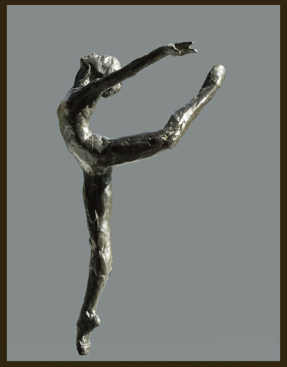 Makarova's-Dancer-Marina-Maguire-of-Rosemary-Hall   by Sterett-Gittings Kelsey - search and link Sculpture with SculptSite.com