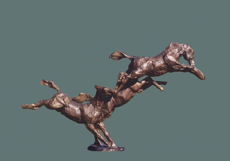 Fox-Trot by Sterett-Gittings Kelsey - search and link Sculpture with SculptSite.com