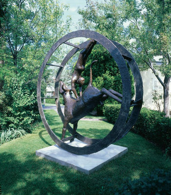 Above Conflict by Thomas Ostenberg - search and link Sculpture with SculptSite.com