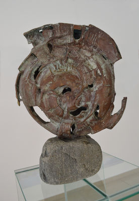 Fossil              by Ventsislav Markov - search and link Sculpture with SculptSite.com