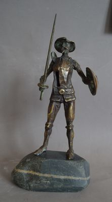 Don Quixote by Ventsislav Markov - search and link Sculpture with SculptSite.com