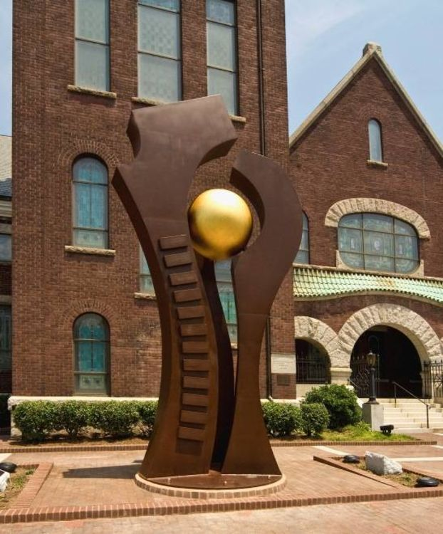 The Trinity by Wayne Trapp - search and link Sculpture with SculptSite.com